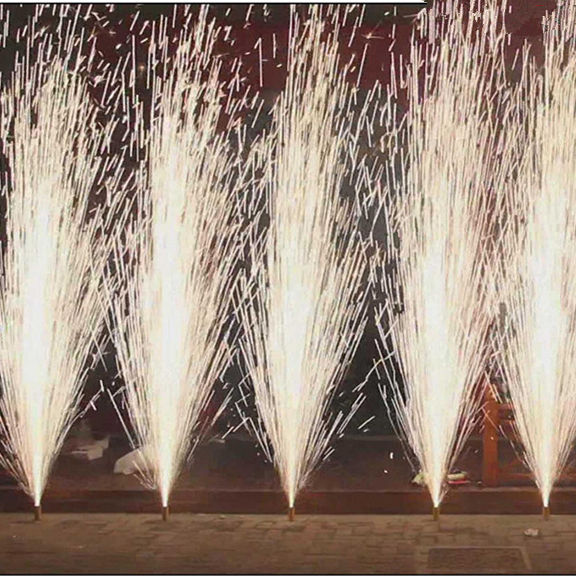 indoor wedding electric sparklers ice pyro 3m30s cold stage fountain India fireworks