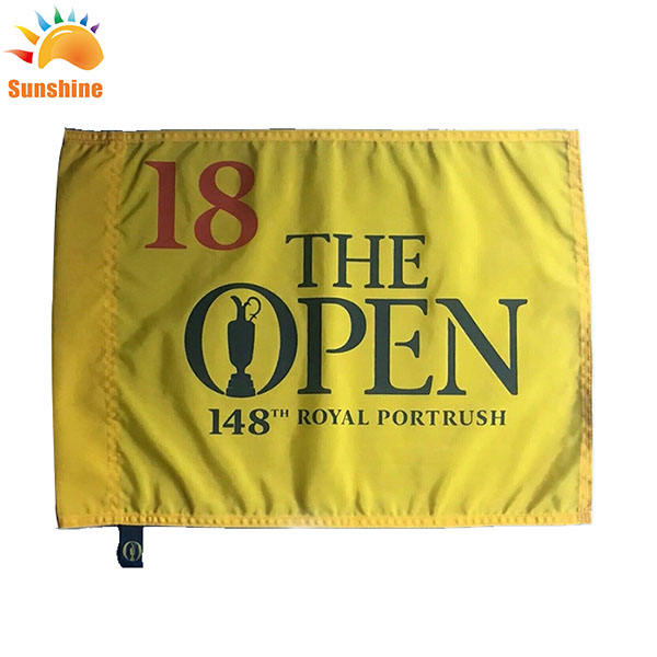 100% Polyester flags custom flag 3x5ft for the golf club