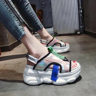 Wholesale popular platform sports sandals women summer newest casual fashion sandals