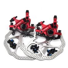 ZOOM MTB Road Line Pulling Hydraulic Disc Brake Calipers Front & Rear With disc