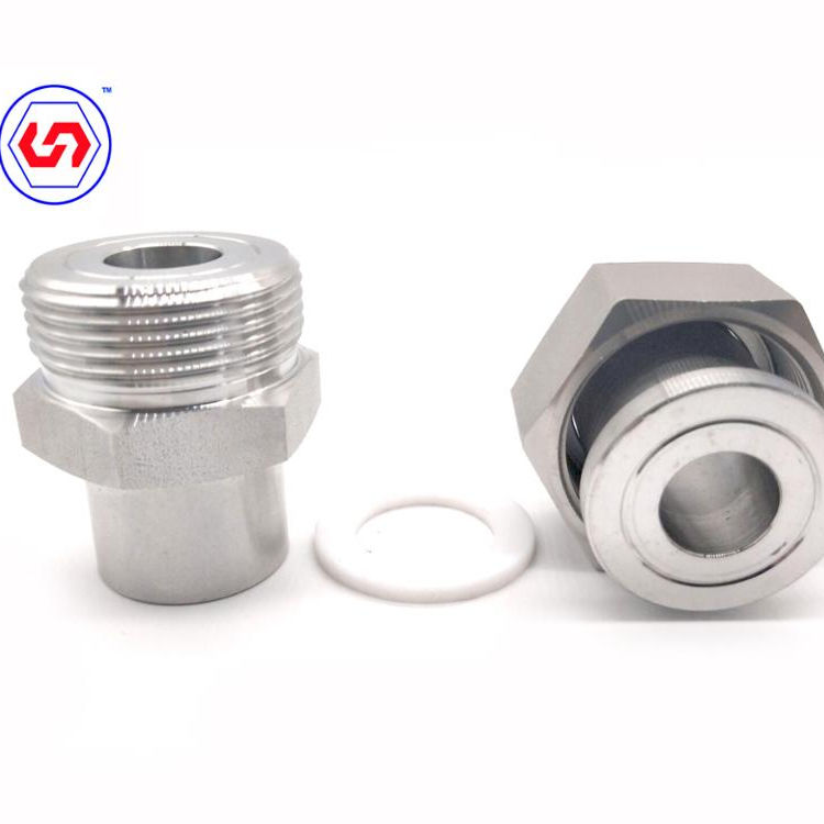 316 Stainless Steel Pressure Gauge Union Tube Fitting