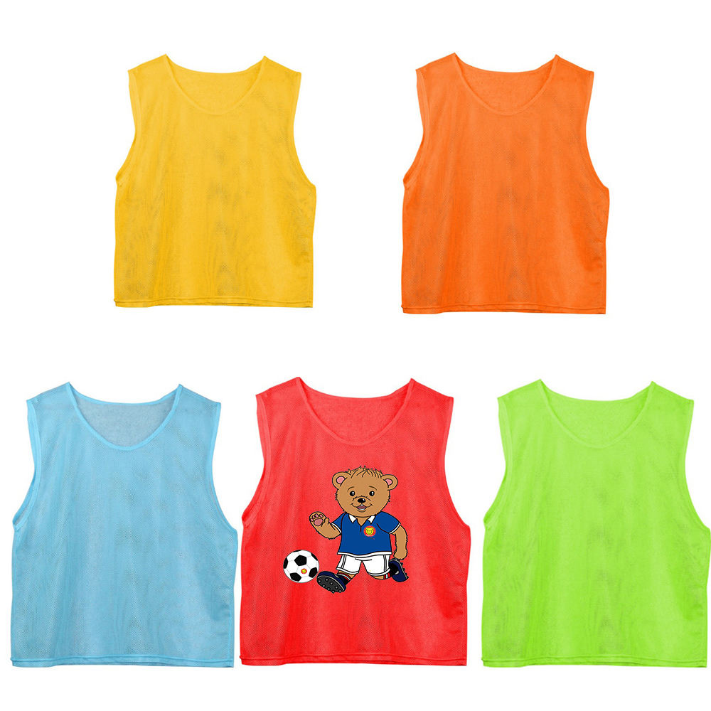 OEM Cheap Football Soccer Team Sport Training Bibs Vest