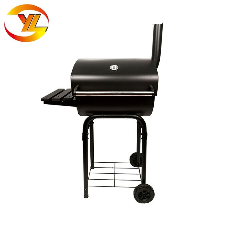 Big Barrel <span class=keywords><strong>Camino</strong></span> Fumatore Carbone di Legna Barbecue Grill