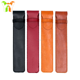 Wholesale Custom Leather Pen Sleeve Pouch with Custom Logo