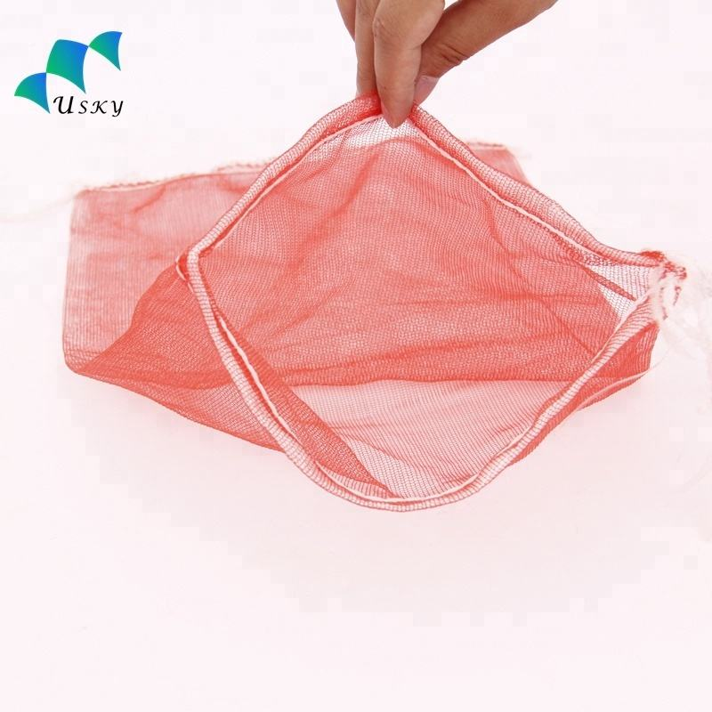 Factory Fruit Vegetable Potato Bag / PP PE Mesh Bag / White Raschel Leno Mesh Bag for Packing onions potatoes