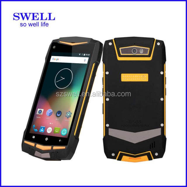 <span class=keywords><strong>Mobil</strong></span> telefon mobiele telefoon MTK6582 Quad Core IPS robuuste Smartphone IP68 Waterdichte telefoon GPS Shockproof Android