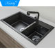 Hot Selling Composite Acrylic Solid Surface Kitchen Sink for Home