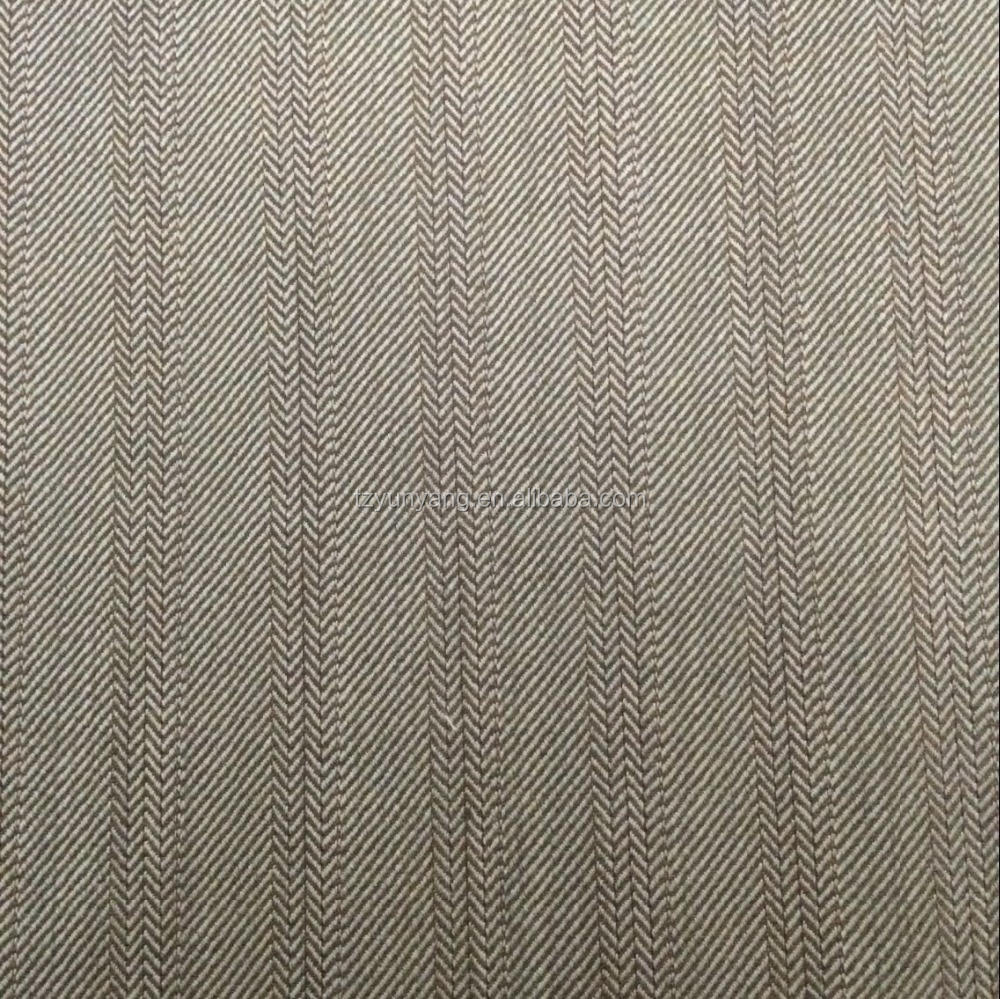 Rich shine wool silk tweed fabric for men's jacket