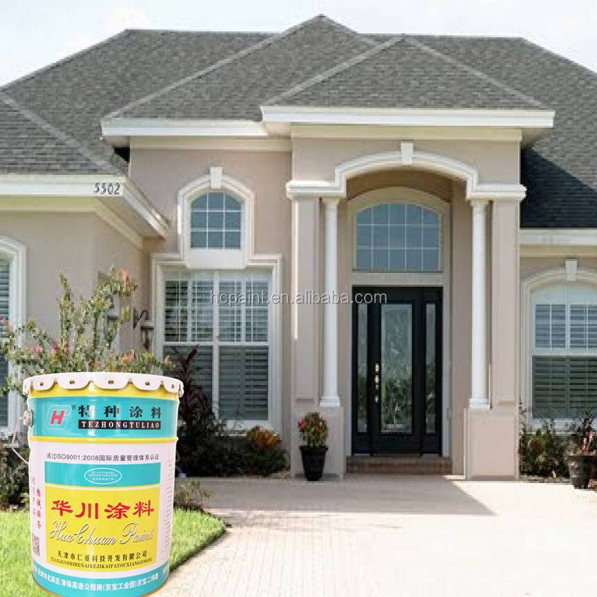 Excellent Exterior Acrylic Emulsion Hydrophobic Spray Wall Paint