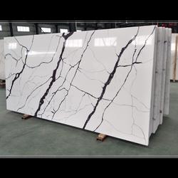 Chinese Quartz Stone Kitchen Counter Top Manufacturer,Venus Calacatta White Quartz Stone Slab