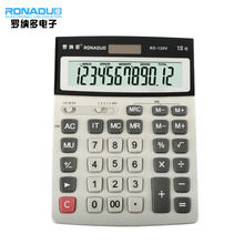 12-digits new style competitive price lighted keys deli desktop calculator 12 digits calculator