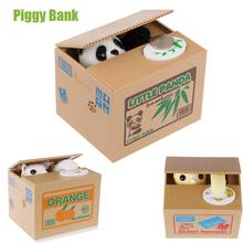 UCHOME Creative Gift Souvenir Mischief Cat Coin Stealing Money Piggy Bank
