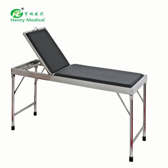 Medical equipment stainless steel medical examination couch
