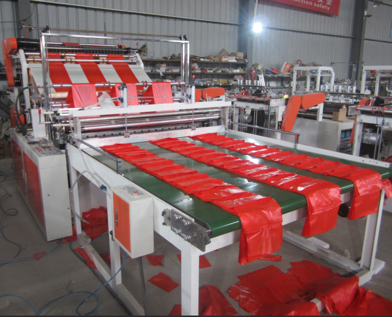 Six-line Plastic Shopping Bag Making Machine