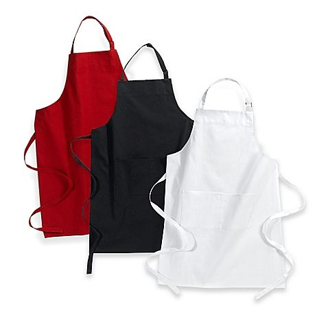 Custom Logo Printed Black Cotton Cooking Kitchen Chef Apron