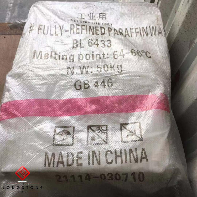 Hydrogenated paraffin wax fully refined 64-66 other brand good quality, lower price