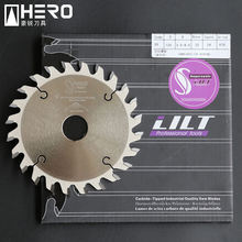 Industrial grade conical tooth scoring tooth circular saw blade