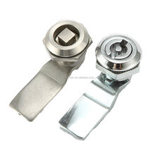 MS705B Silvery  Chrome Coated ZDC Industrial Cabinet Barrel Cam Locks