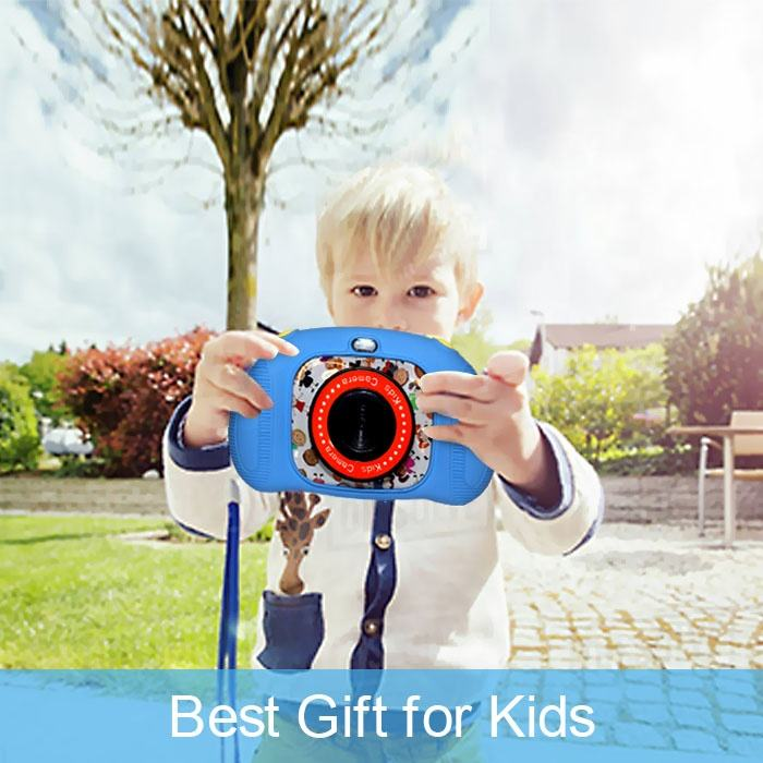 Packaging Customization Mini Cheap Smart Toddler Kids Children Digital Video Photo Camera Toys for