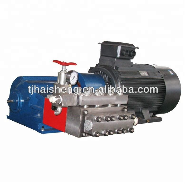 widely used 1700 bar high pressure ram pump