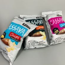 Custom printed plastic plantain chips packaging bags / potato crisp packaging bags/ plantain chips package