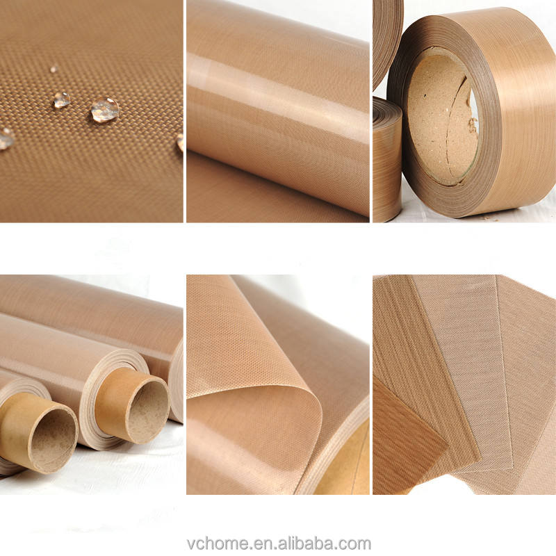 Hot sale PTFE coated fiberglass fabric sheet roll