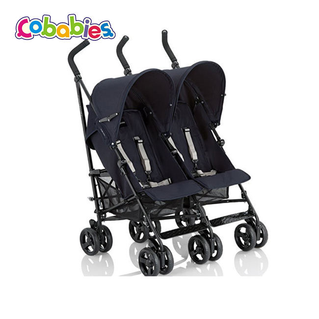 Wholesale lightweight adjustable double strollers baby items