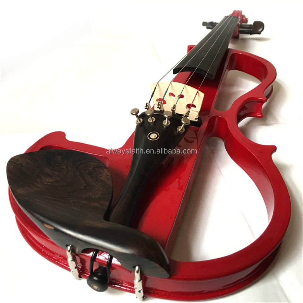 electric violin prices in egypt 1/4 1/2 3/4 4/4 ebony electric violin
