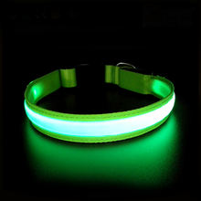 High Quality  USB Rechargeable LED Flashing Pet Collar For Dogs