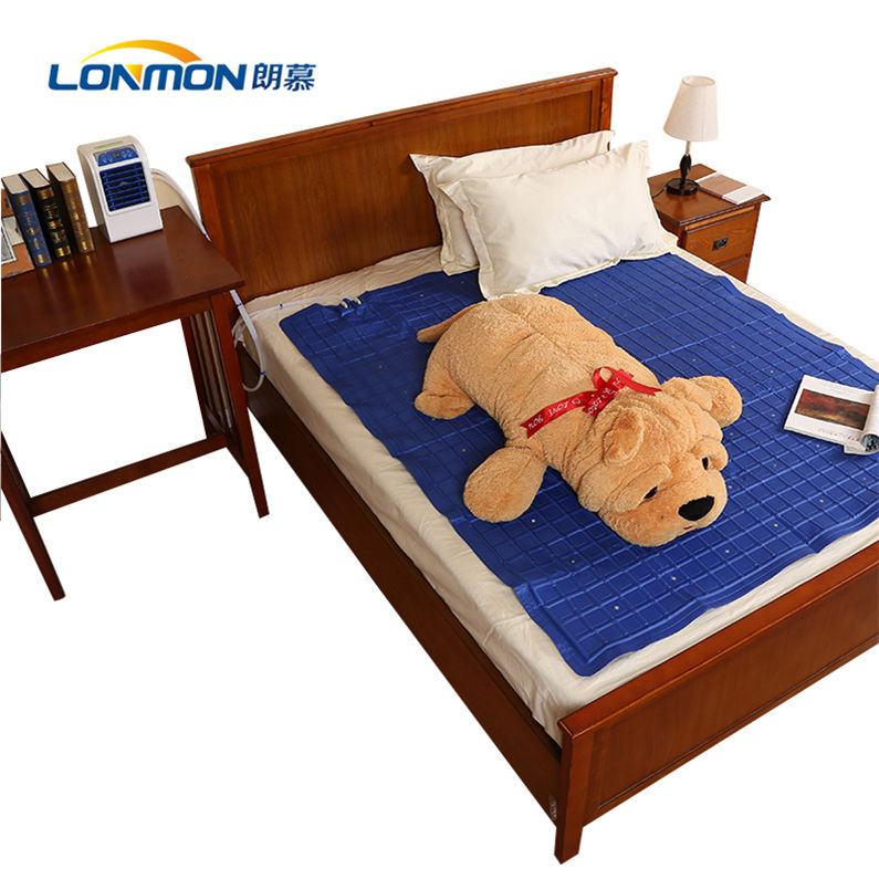 Cooling [ Bed ] Electric Cooling Mattress Lonmon Water Cooled Mattress Pad With Air Conditioner Fan Student Dormitory Bed Cooling Mattress Pad Electric