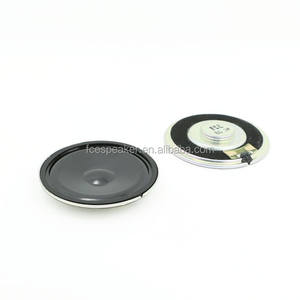 50mm 8ohm 1 W waterpoof mylar luidspreker voor video apparaat