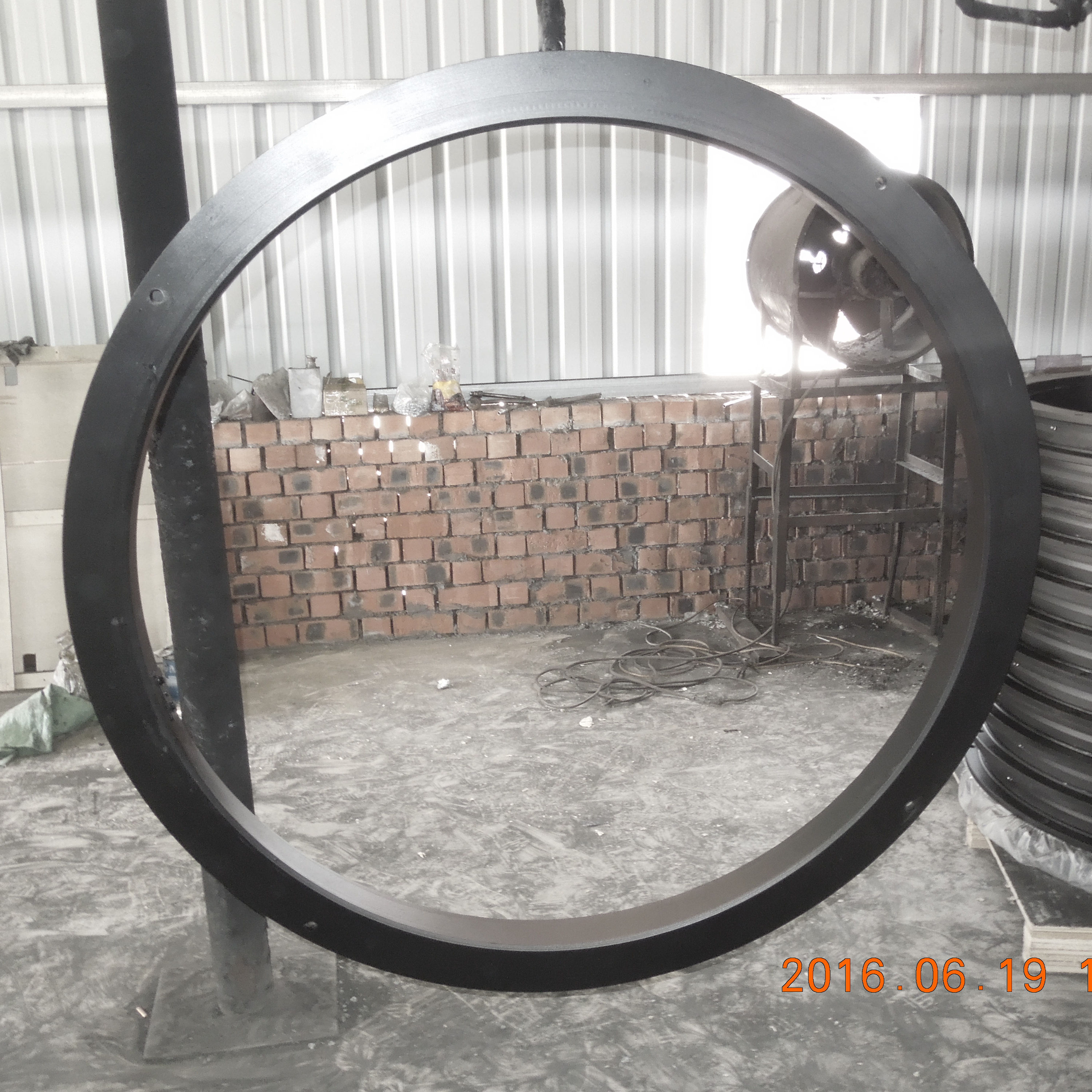 Single Ball Slewing Ring Jost Type Turntable for Semi Trailer Parts