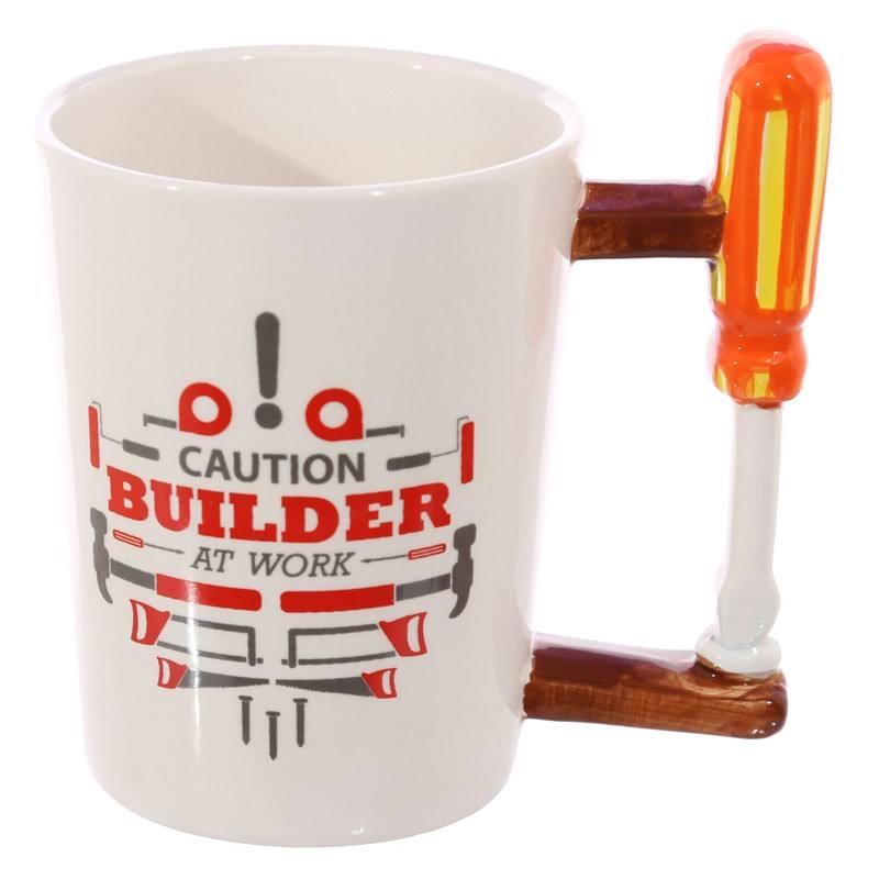 Regalos promocionales para ad destornillador de cerámica taza con su logotipo