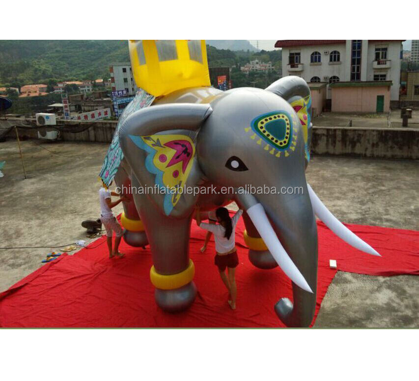 inflatable outdoor event helium elephant balloon for sale