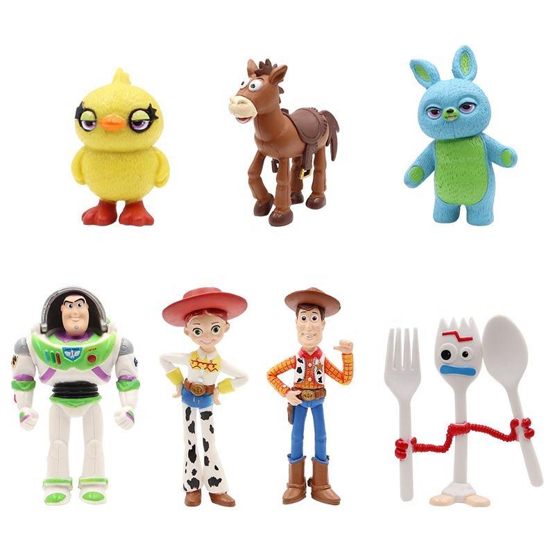 Matryoshka Russian Nesting Doll Cartoon Toy Story Woody Buzz Rex Jessie 7 Pс