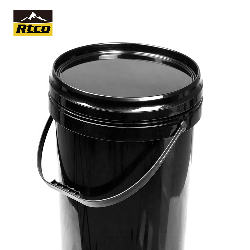 RTCO new product rectangular food grade plastic pail with lid