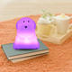 Animal Night Light Honey Dog,Rechargeable Night Light Toys 7 Colors Change For Christmas
