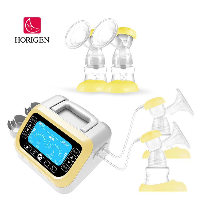 hospital grade use double electric breast pump for baby feeding