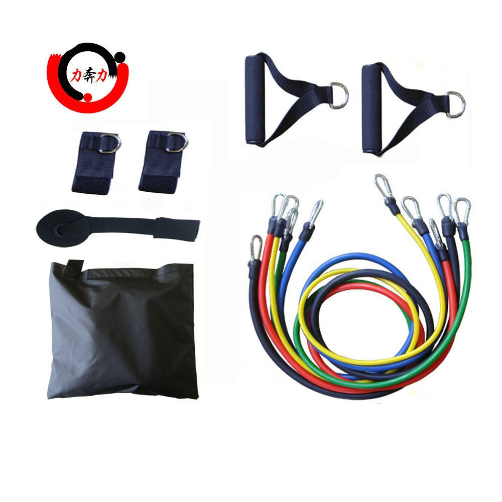 Gym apparatuur Fitness <span class=keywords><strong>Oefening</strong></span> Resistance Bands Set Met Deur Anker
