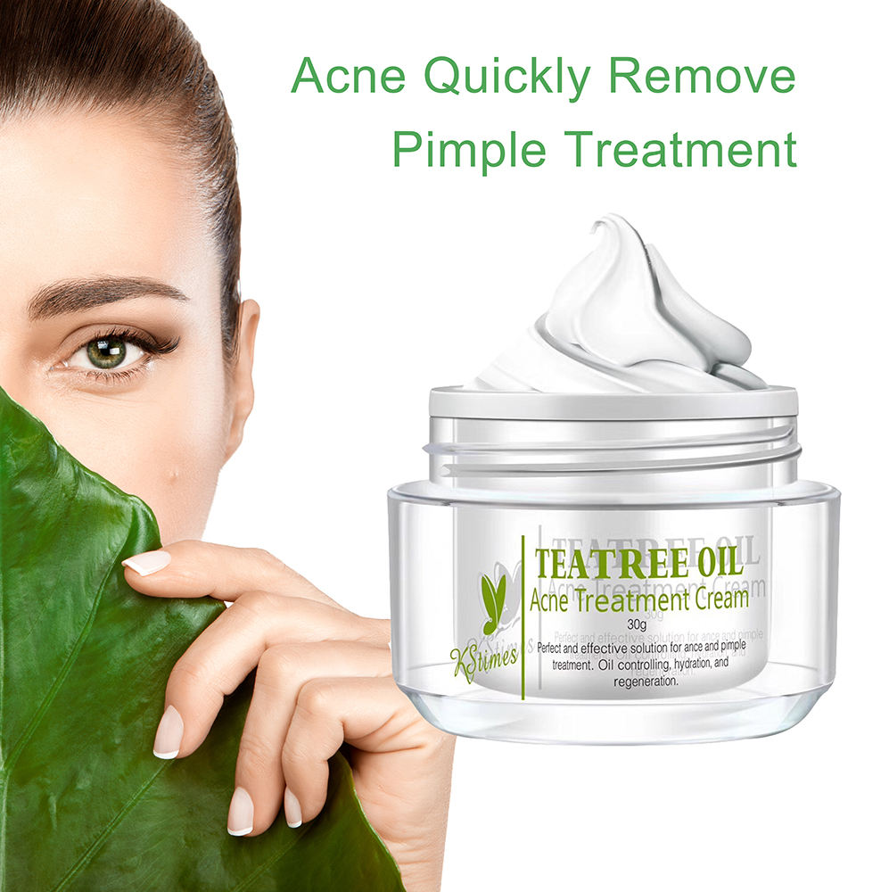 Private Label Acne Tone Skin Care Products Tea Tree Oil Pimple Treatment Cream Best Anti Acne Clear Gel For Acne In India Buy Clear Gel For Ance Acne Gel Anti Acne Product On