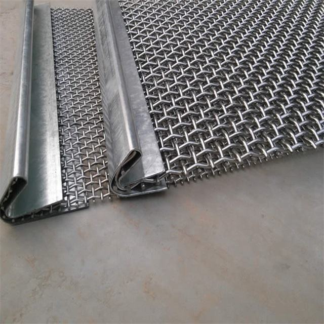 Heavy Duty Crimped Sieving Wire Mesh For Quarry And Mining