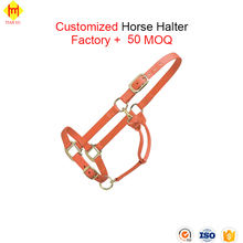 Design Your Own Leather Nylon Rope Horse Halter Manufacturer