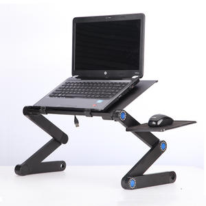 E6 Aluminum Alloy 360 portable foldable laptop stand with Mouse Pad