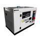 7.5kva 3 phase super silent small portable diesel generator