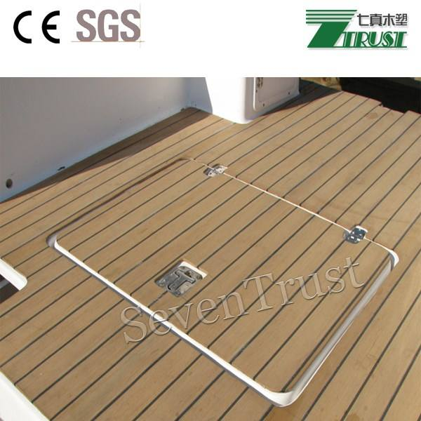 Teak Deck Sintetica Teak decking per Yachts Piscine Terrazze, made in China