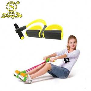 Household Sports Fitness Slimming Device 2/3/4-Tube Pull Rope