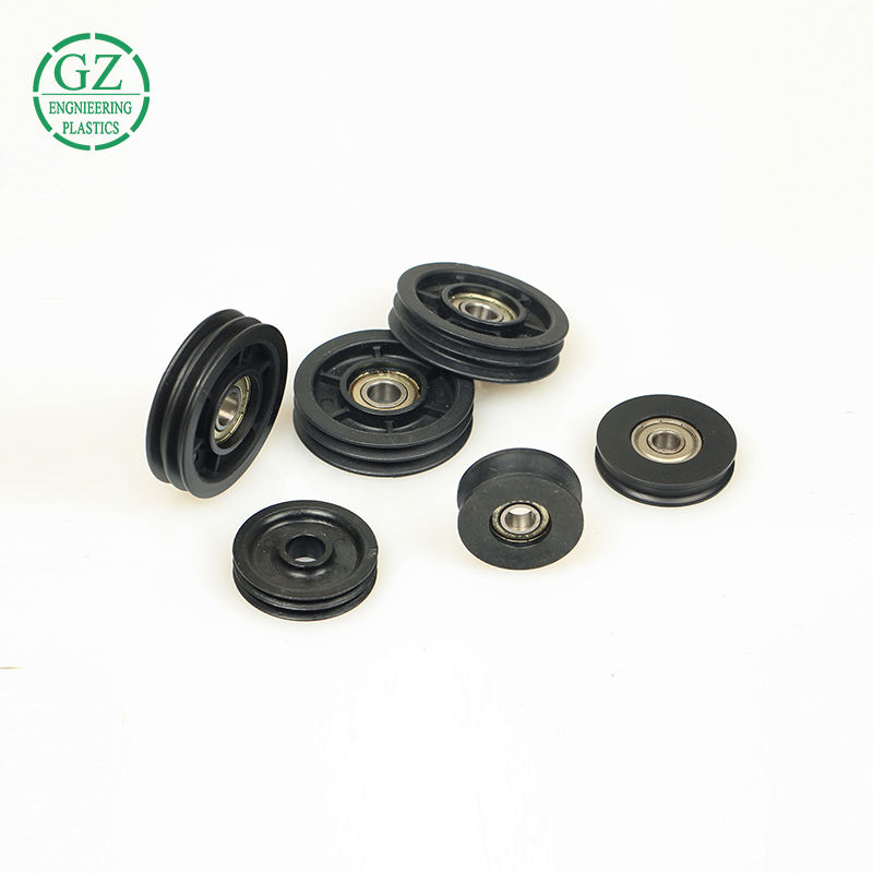 Plastic Bearing Pulley Free Sample Plastic Mould Injection Nylon Small Pulley With Bearings