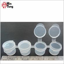 4pcs Plastic Strip Paint Pot