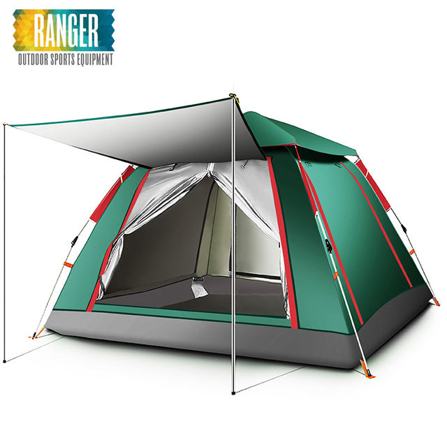 High Quality Camping Automatic Easy Up Tent