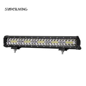 7Inch 60W Auto-onderdelen 4X4 Led Flood Spot Light Bar Voor Offroad